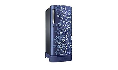 Samsung RR19H1834VL/TL Direct-cool Single-door Refrigerator (182 Ltrs, Blue)