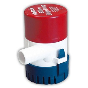 Rule 800 GPH Round Non-Automatic Bilge Pump w/ Rule-A-Matic Float Switch - 12v