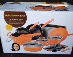 Rachel Ray 15 Piece Cookware Set - Hard Enamel