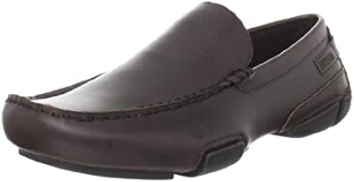 Kenneth Cole REACTION Men's Mystery Planet Driver,Brown,10 M US