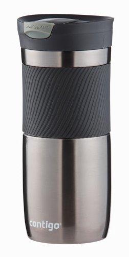 Termo antigoteo de color negro - 470 ml