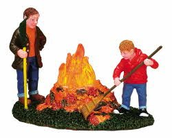 Lemax Village Collection Autumn Chores #74640