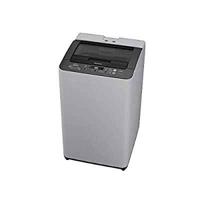 Panasonic NA-F62B5HRB Fully-automatic Top-loading Washing Machine (6.2 Kg, Grey)