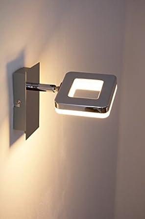 spot mural led turin 6 watt 500 lumen 3000 kelvin luminaires et eclairage. Black Bedroom Furniture Sets. Home Design Ideas