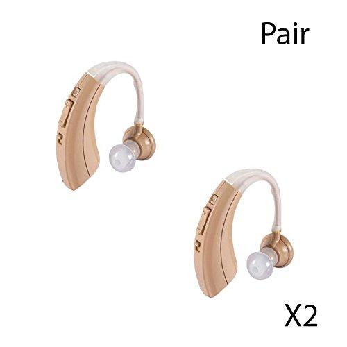 1 Pair- New Digital Hearing Amplifier, EZ-220 / VHP-220,Full digital circuitry,FDA Approved,...
