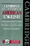 img - for Cambridge Dictionary of American English Book and CD-ROM book / textbook / text book