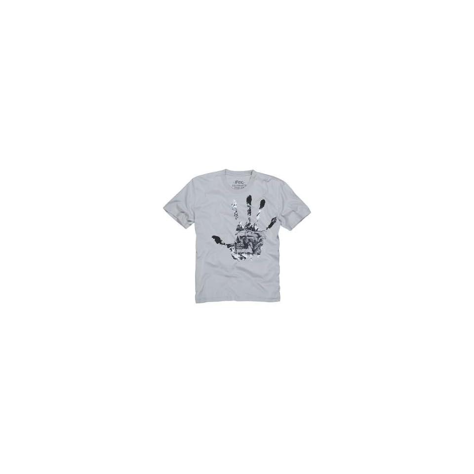 Fox Racing Disenfect T Shirt   X Large/Light Grey