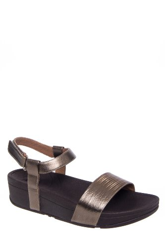 Nova Low Wedge Ankle Strap Sandal