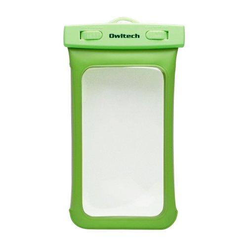 オウルテック iPhone5/5S/5C Xperia GALAXY Note3も入る大きめサイズのスマートフォン用防水ケース 防水保護等級IPX8取得 OWL-MAWP03(GR)
