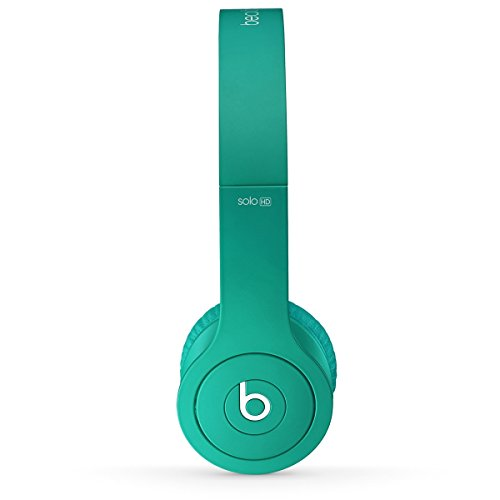 Beats by Dr. Dre Solo HD 07462 | On-Ear Headphone Drenched in Teal BT ON SOL DIC TEL original replacement red aux auxiliary pro and detox edition cable wire cord for monster solo beats studio headphones by dr dre solo studio solohd headphones cable discontinued by manufacturer