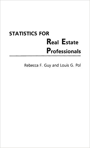 Statistics for Real Estate Professionals (Contributions to the Study of World)