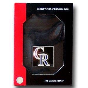 MLB Colorado Rockies Money Clip/Cardholder