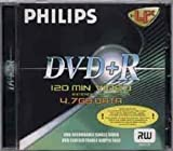 Philips DM4S6B10F Spindle of 10 DVD-R Blank Discs 4.7 GB Data / 120 Min Video 16x