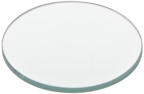 American Educational Unmounted Double Convex Lenses with Ground Edges, 50mm Diameter, 25cm Focal Length (Bundle of 5)