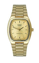 Casio Casual Clasic Gold-Tone Dial Men's Watch #MTP-1169N-9A