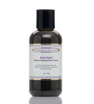 Simply Divine Botanicals Black Velvet Facial Cleanser 4 fl. oz.