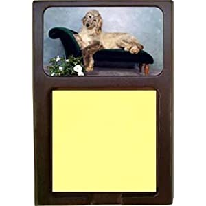 Afghan Hound Sticky Note Holder