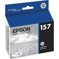 Epson UltraChrome K3 157 Inkjet Cartridge (Light Black) (T157720)