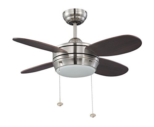 Litex e mlv36bnk4lk1 maksim collection 36 inch ceiling fan with five litex e mlv36bnk4lk1 maksim collection 36 inch ceiling fan with five wench wood blades and single light kit with opal frosted glass by ellington aloadofball Image collections