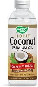 Nature's Way Liquid Coconut Premium Oil -- 20 fl oz