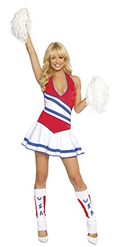 RB1172 HOT Sale Cheerleader Fancy Dress Costume Sexy Adult Costume