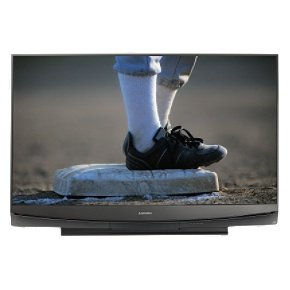 "Mitsubishi 60"" 3-D Ready 1080p 120Hz DLP Rear-Projection TV - Black (WD60837)"