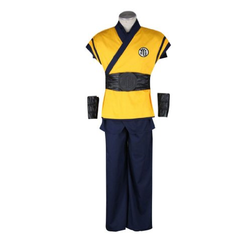 Dream2Reality Anime giapponesi Dragon Ball Costumi Cosplay - Son Goku Outfit 3nd Ver Movie Large