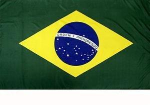 *** PROMOTION *** Drapeau Brésil - 150 x 90 cm