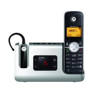 Motorola Dect 6.0 Two-Headset/Cordless Phone Combo w/ TAD MRAL903C