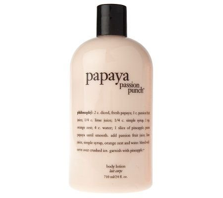 Philosophy Papaya Passion Punch Body Lotion 24 Oz