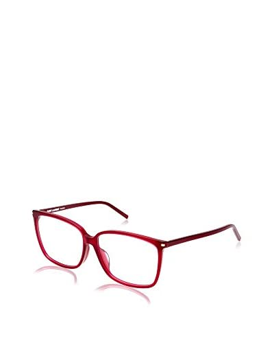 Yves Saint Laurent Montura SL 48/F 58 (58 mm) Rojo Oscuro