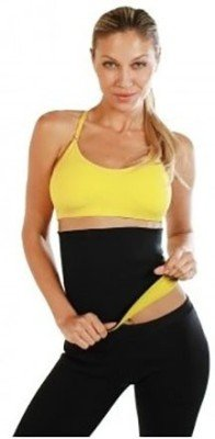 Hot Body Fat Remover Shaper Belt and Capri for Slim & Beautiful Waist and Thighs – XXXL Size ( waist 34 & Above)