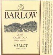 2008 Barlow Merlot 375 Ml