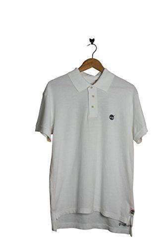 Timberland -  Polo  - Maniche corte  - Uomo Bianco bianco