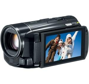 Canon VIXIA HF M52 Full HD 10x Image Stabilize Camcorder Wi-Fi Enabled with 32GB Internal Drive Plus Dual SDXC Card Slots and 3.0-Inch Touch LCD