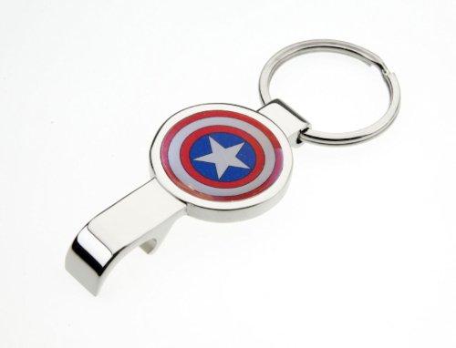 captain-america-shield-porte-cles-en-metal-poli-et-decapsuleur