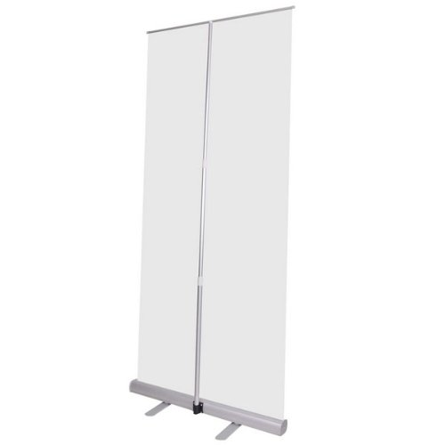 """Professional 32"""" X 79"""" Economy Telescopic Rollup Retractable Banner Stand"""