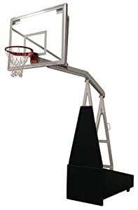2000 Side Court Portable Basketball Backstop from Spalding