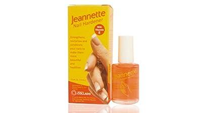 JEANNETTE NAIL HARDENER (Endurecedor De / Para Uñas) With Vitamin E .5 oz