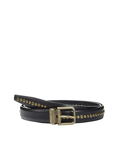Dolce & Gabbana Cinturón Piel Negro