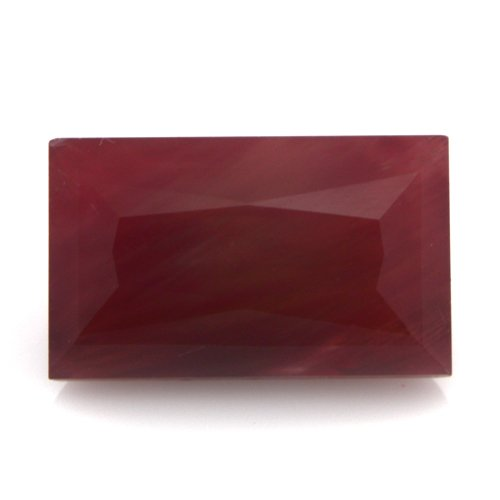 Natural Africa Red Andesine Loose Gemstone Baguette Cut 11*6mm 2.85cts VS Grade