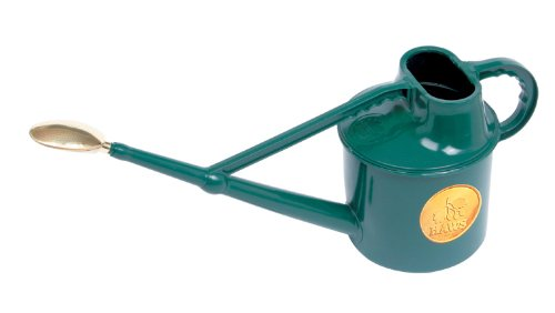 Haws Deluxe 7-Litre Outdoor Watering Can, Green