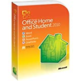 New Microsoft Office 2010 Home & Student 32/64-bit 3 User Office Suite Com