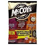 McCoys Mighty Meaty Variety Crisps 6 X 32G