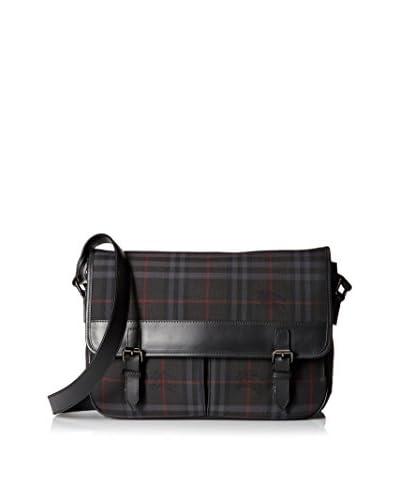 Burberry Men's Messenger Bag, Charcoal/Black