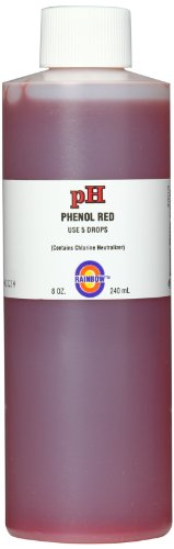 Pentair R161116 pH Solution Phenol Red with Chlorine Neutralizer, 8-Ounce (Pool Chlorine Neutralizer compare prices)