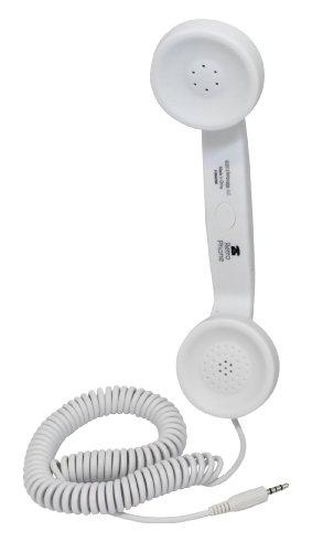 Coco Retro Cell Phone Handset (White)