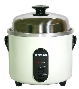 Tatung TAC-3A-SF 3 Cups Indirect Heating Rice Cooker (Taiwan Rice Cooker compare prices)