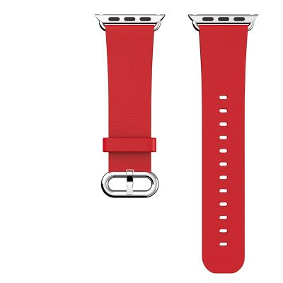 apple-watch-band-hix-genuine-leather-strap-wrist-band-replacement-w-metal-clasp-for-apple-watchred-o