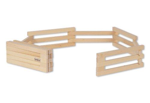 zaun-set-bestehend-aus-11-holzteilen